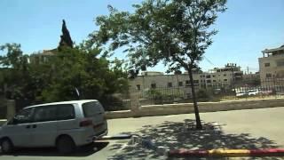 Израиль. Иерусалимский скоростной трамвай Часть 5