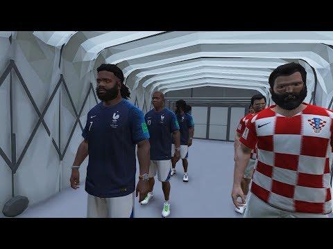 WORLD CUP 2018 FINAL IN GTA 5 | FRANCE Vs CROATIA