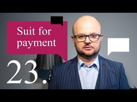 23. Suit for payment - Legal English Centre