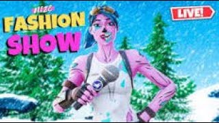 FASHION SHOW LIVE FORTNITE GIVING NEW BATTLE PASS!!!!!!!!