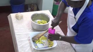 Agriprocessing by RODI Kenya Making Sweet potatoe chips Lesson 2