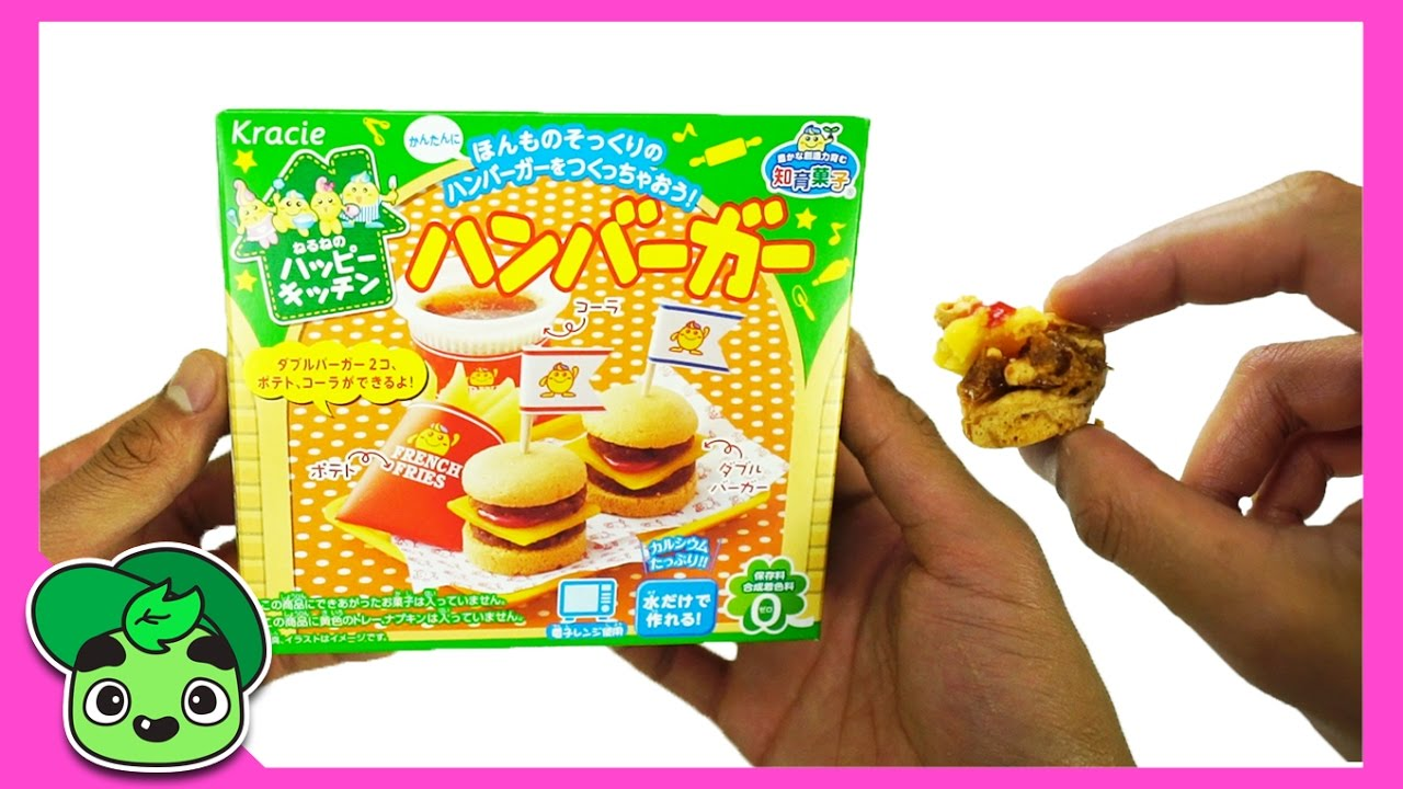 GUAVA JUICE JR Gummy Burger and Fries Japanese DIY Kit!
