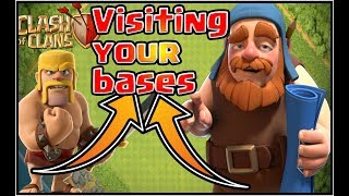 Clash of Clans 1 HOUR special stream REVIEW YOUR BASES AND PSH!