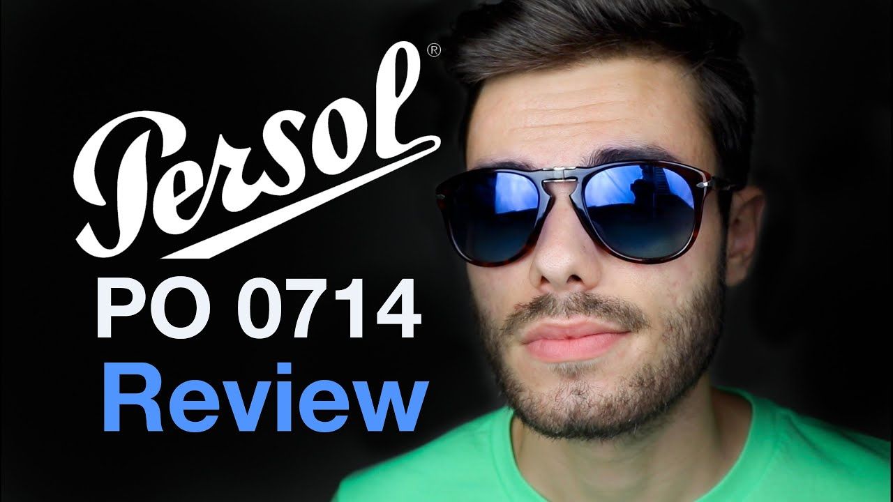 Persol PO 714 Steve Mcqueen Review - YouTube 8b5eb824f001