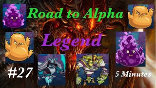 YES!? l Road to Alpha LEGEND #27 l SMASH MONSTERS