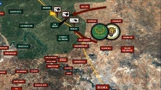 Как сирийский спецназ выбивал джихадистов из города Суран. 17 апреля 2017 года. Русский перевод.