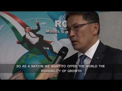 INTERVIEWS - CCTV interviews Kazakhistan ambassador