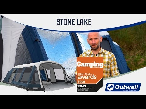 Outwell Stone Lake 5 & 7ATC Air / Inflatable Tent (2019) -  | Innovative Family Camping Gear