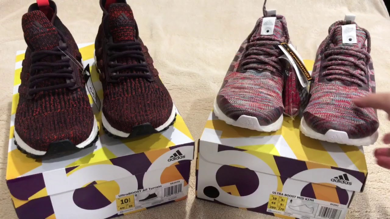 5f54eb11454 Comparing the Ronnie Fieg Kith Ultra Boost Mid to the Adidas Ultra Boost  Mid ATR
