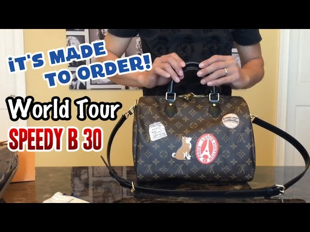 Louis Vuitton My LV World Tour Speedy Bandouliere 30. Its made to order!