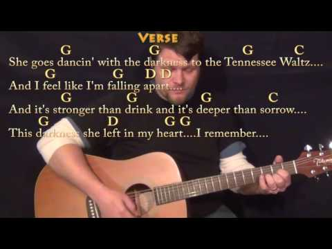 Tennessee Waltz - Guitar Cover Lesson in G with Chords/Lyrics - G C D F