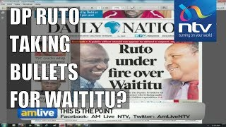 Was it wise for DP Ruto to come to the rescue of Governor Waititu? || AM Live