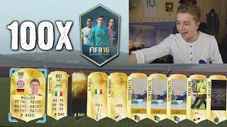 FIFA 16 - OPENING 100 JUMBO PACKS