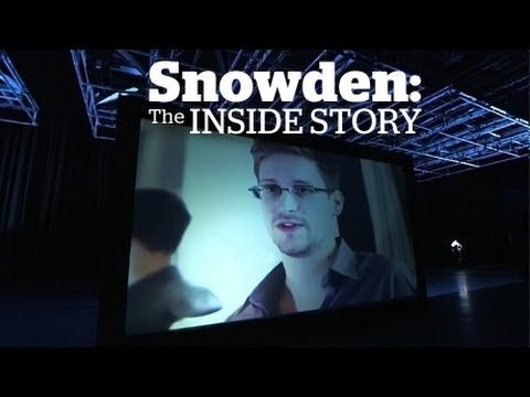 Journalist Glenn Greewald gives the inside story of Edward Snowden