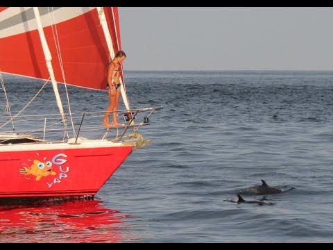 Part 2/8: St.Maarten - Galapagos. Laura Dekker, youngest to circumnavigate the world singlehandedly