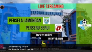 Download Video Live Streaming Persela Lamongan vs Perseru Serui Gojek Liga 1 MP3 3GP MP4
