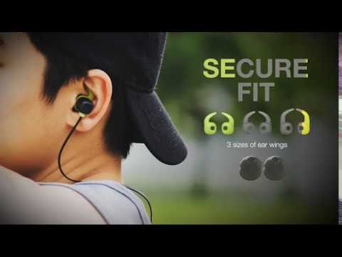 c0011b242a1 BE Sport4 - Wireless Bluetooth in-ear headphones - YouTube