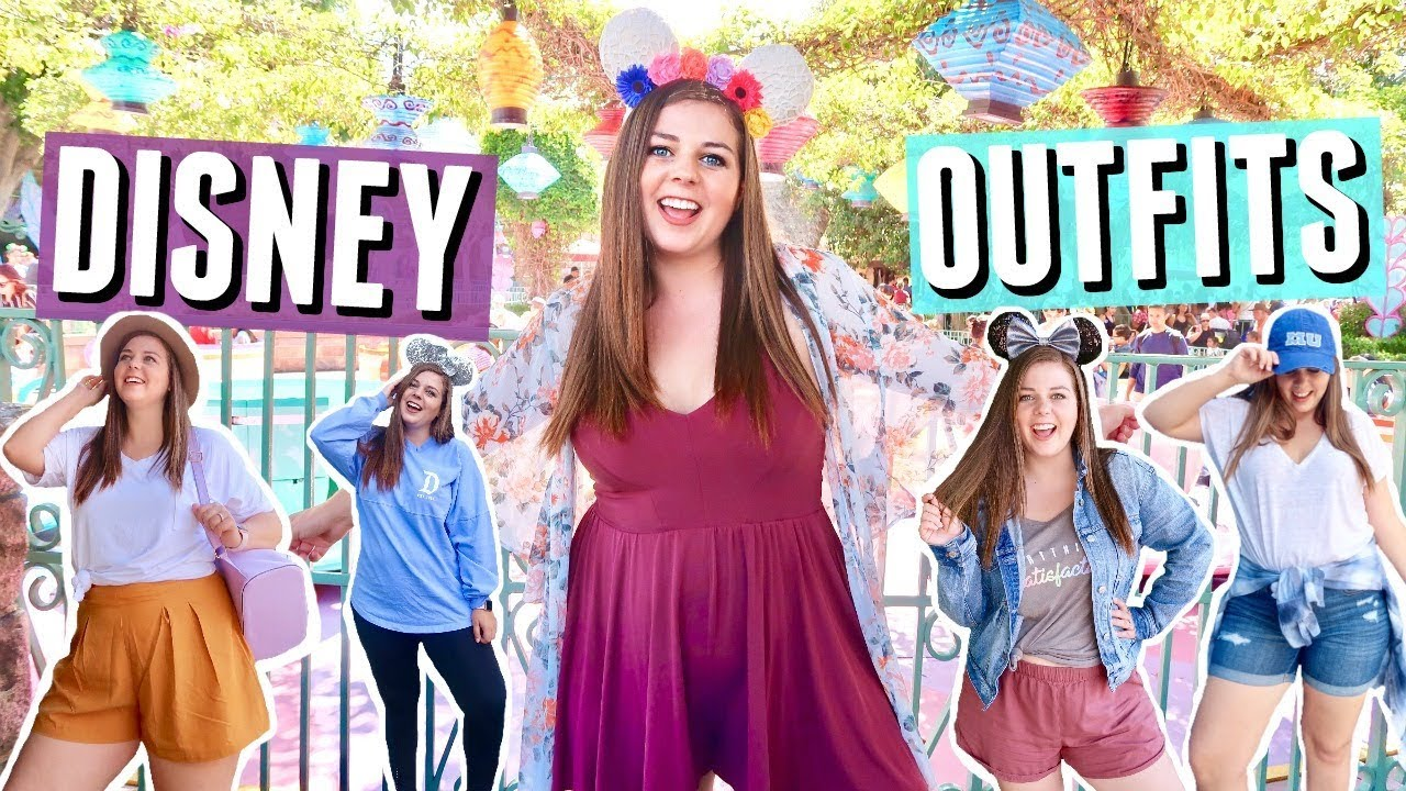 e0b6d4c8c00 Disneyland Outfit Ideas for Curvy Girls!! Disney Lookbook! - YouTube