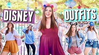 Disneyland Outfit Ideas for Curvy Girls!! Disney Lookbook!