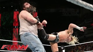 Dolph Ziggler vs. Luke Harper - Intercontinental Championship Match: Raw, December 22, 2014