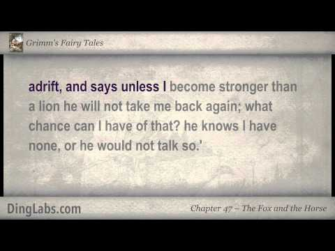 The Fox And The Horse - Grimm's Fairy Tales By The Brothers Grimm - 47