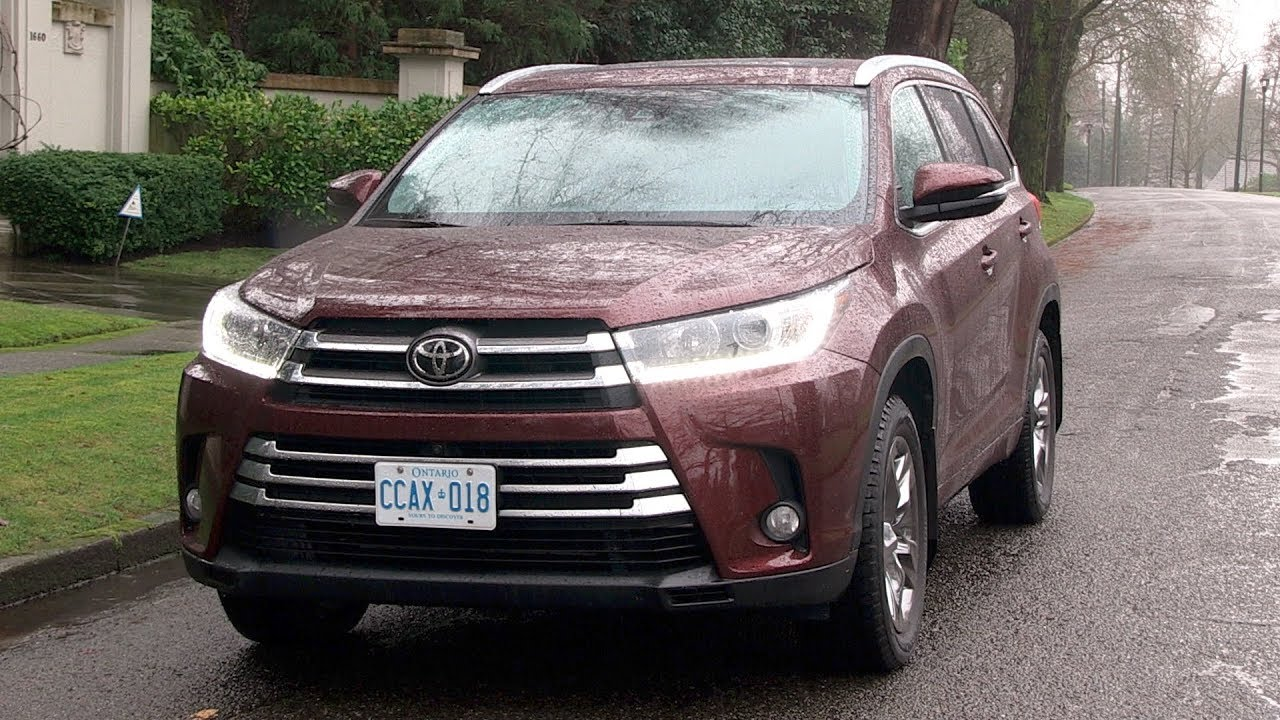 2018 toyota highlander review the best all around youtube. Black Bedroom Furniture Sets. Home Design Ideas