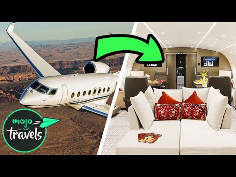 Top 5 Coolest Private Planes