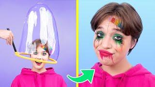 Soap Bubble Challenge / How to Make Giant Bubbles