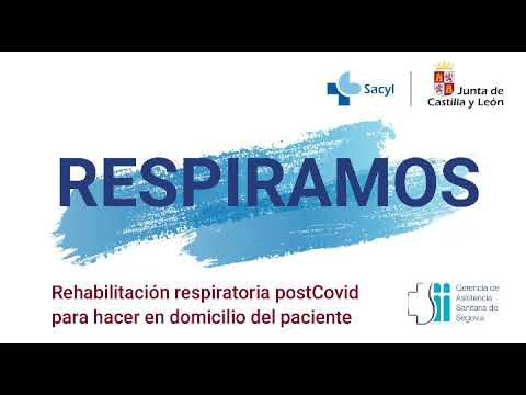 Ejercicios de fisioterapia respiratoria domiciliaria para pacientes post COVID