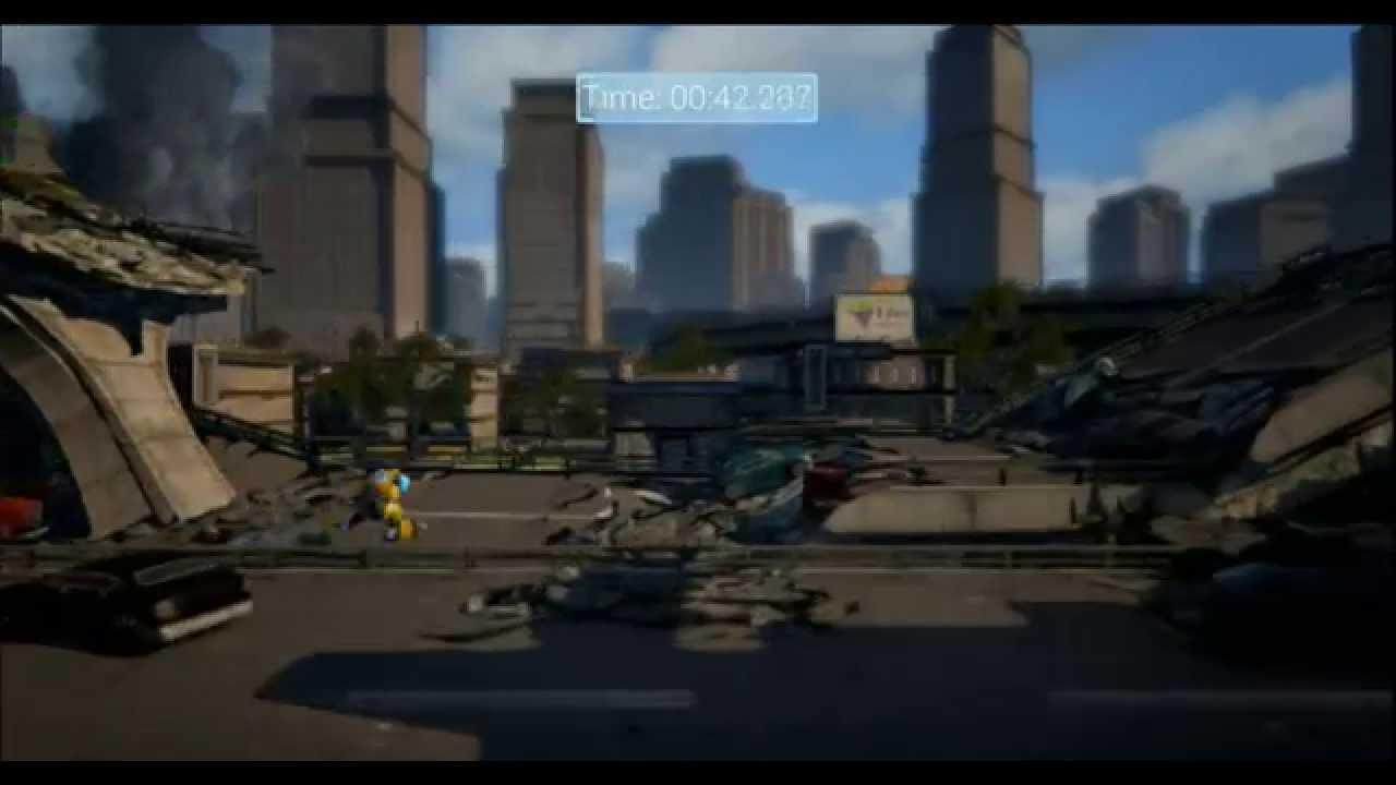 Unreal Engine 4 Platformer Game