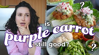 Remaking Our Favorite Purple Carrot Meals (Still Worth it in 2021?)