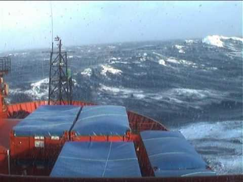 Big seas on the Southern Ocean