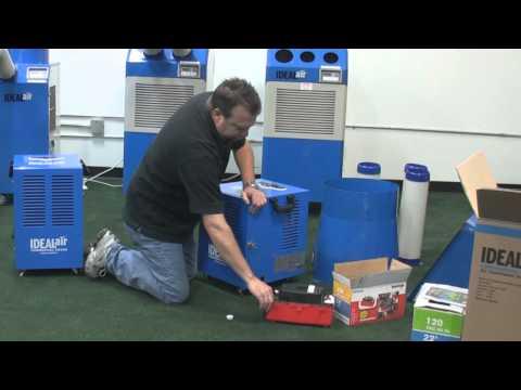 Ideal Air Commercial Dehumidifiers