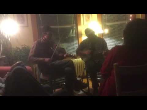 Bright Sunny South: Nate Paine (fiddle) and Brendan Taaffe (banjo)
