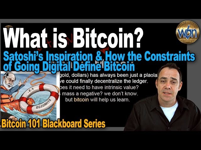 Bitcoin 101 - What is Bitcoin?