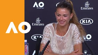 Camila Giorgi press conference (3R) | Australian Open 2020