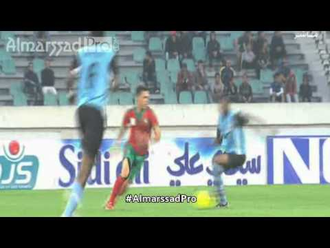 Hamza Sakhi (LB Chateauroux) VS Botswana   {CAN U17}