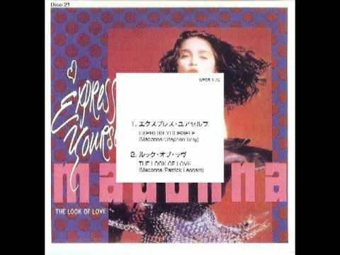 Madonna rare 1997 japan box set video.