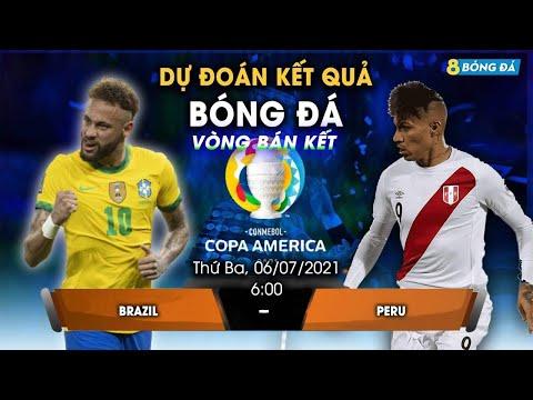 SOI KÈO, NHẬN ĐỊNH BÓNG ĐÁ HÔM NAY BRAZIL VS PERU 6h, 6/7/2021 - COPA AMERICA