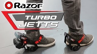 Razor Turbo Jetts - Turbo Powered Heel
