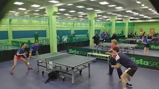 Кулистова-Синицын vs Рязанова-Артемов | RTTF cup 300 (зима 2021)