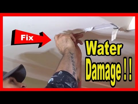 how-to-fix-a-water-damaged-ceiling