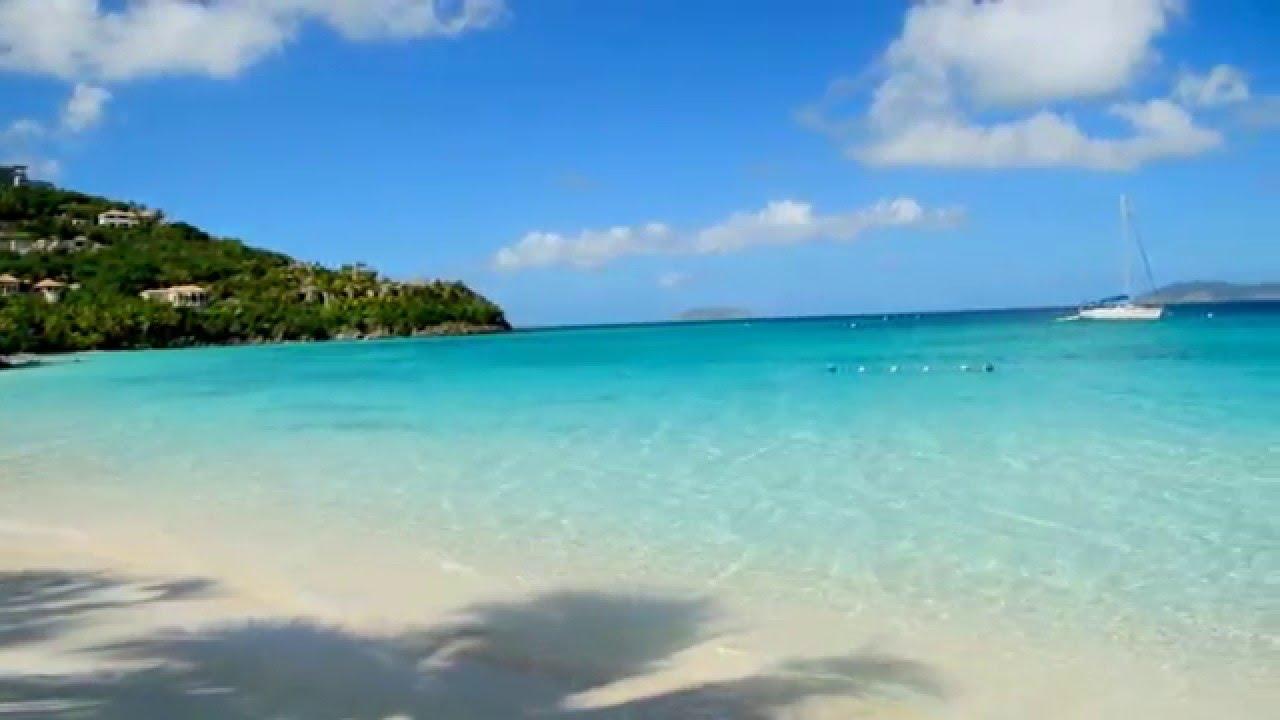 Little Cinnamon Beach St John Us Virgin Islands National Park You