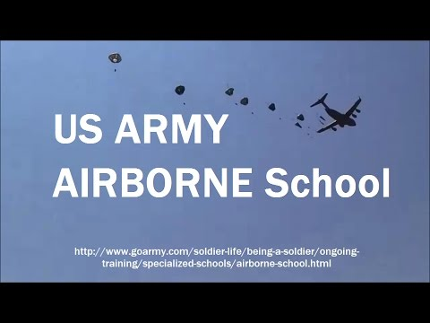 US ARMY Paratroopers - 2017 Airborne Jump School - edited by Kevin Hunter