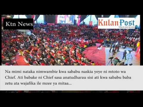 """Ruto's hilarious response to Moses Wetangula's """"I'm the son of a Chief"""""""
