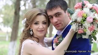 Кумыкская веселая свадьба. Красивая пара.