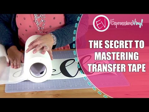 The Secret To Mastering Transfer Tape
