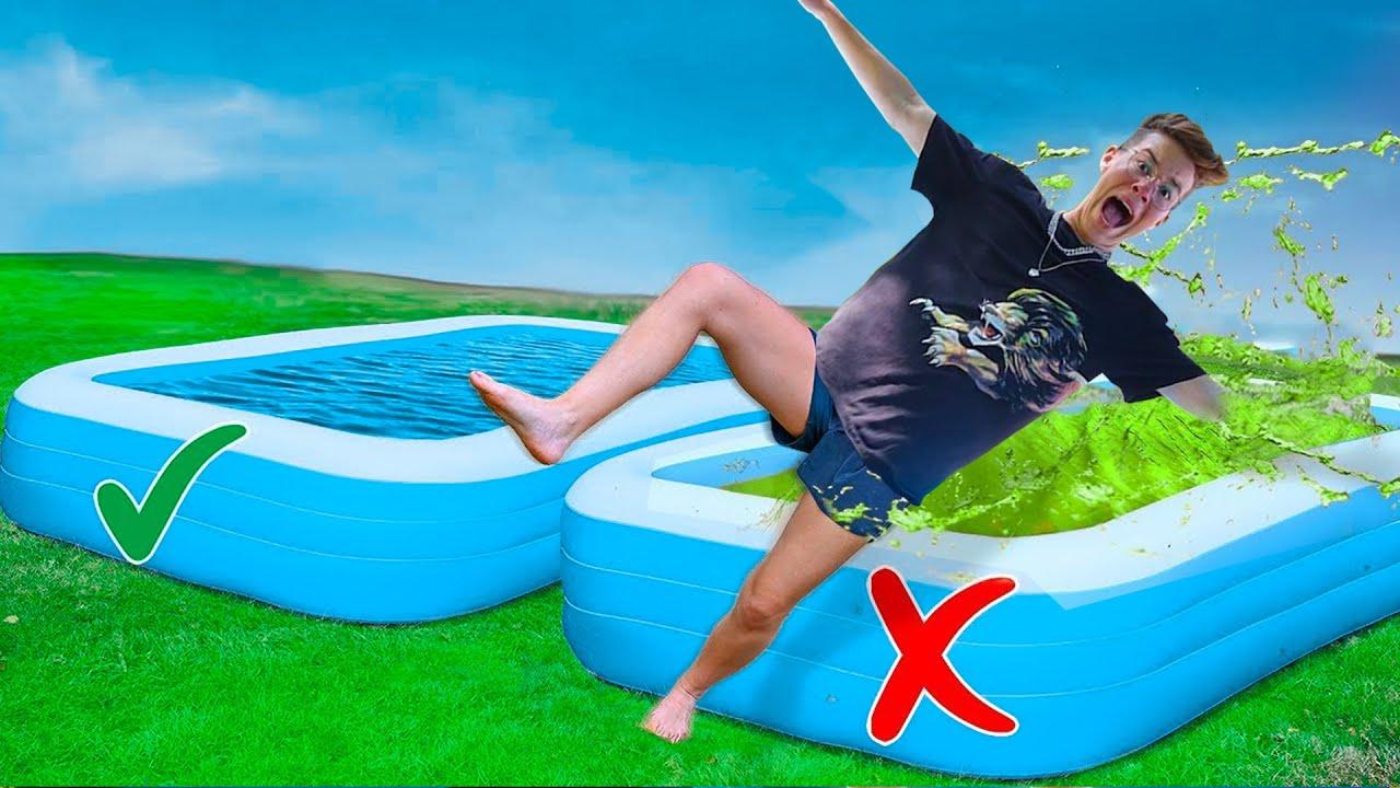 אסור ליפול לבריכה הלא נכונה!!