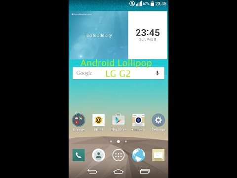 [Howto] LG G2 Android Lollipop Optimus UI [DE]