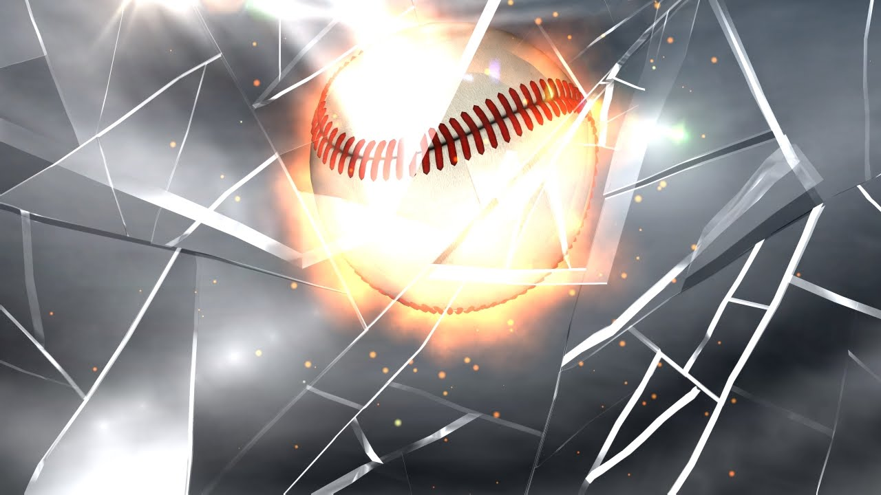 INTRO VIDEO MAKER Get A Video Intro In MINUTES BROKEN GLASS BASEBALL YouTube